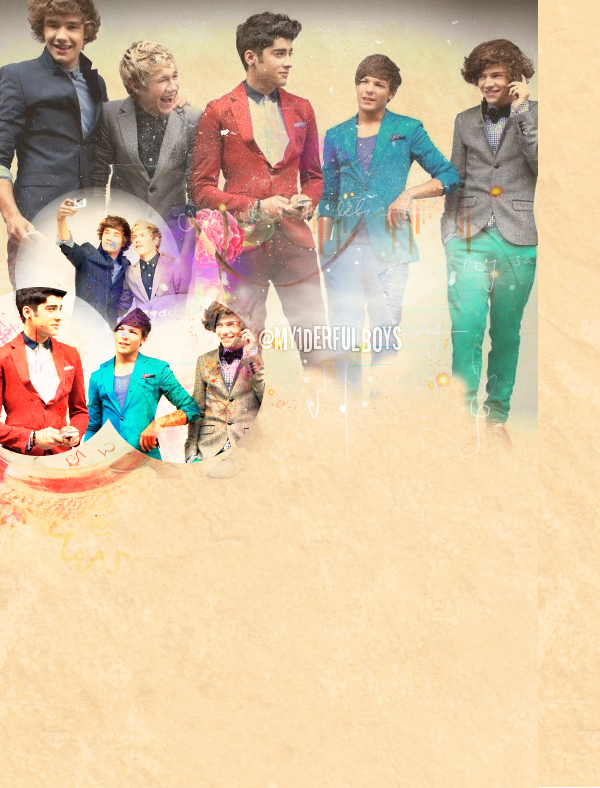 One Direction Twitter Background By X1Derful