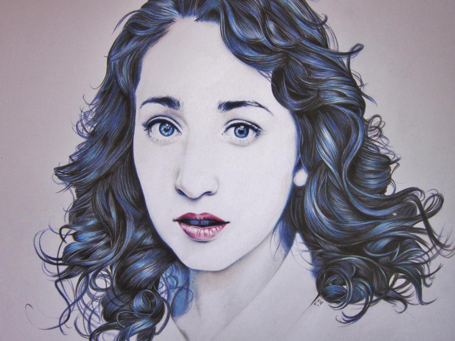 Regina Spektor portrait by Synosurai