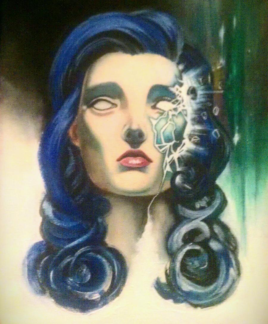 Zombie girl WIP
