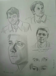 Castiel sketches