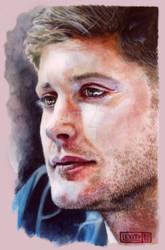 Jensen Ackles watercolor