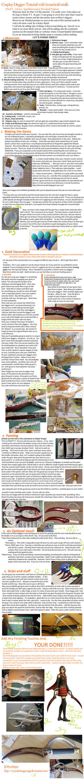 Dagger Tutorial with household stufs Part 3 by IjiRyushippo