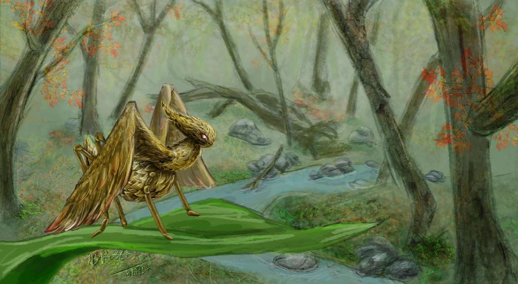 Final concept Monster Bug by IjiRyushippo