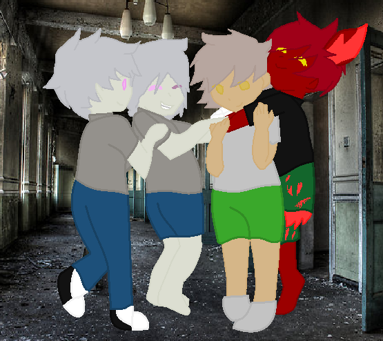 Puppet,Marionette,eak and fox by FoxKiller256