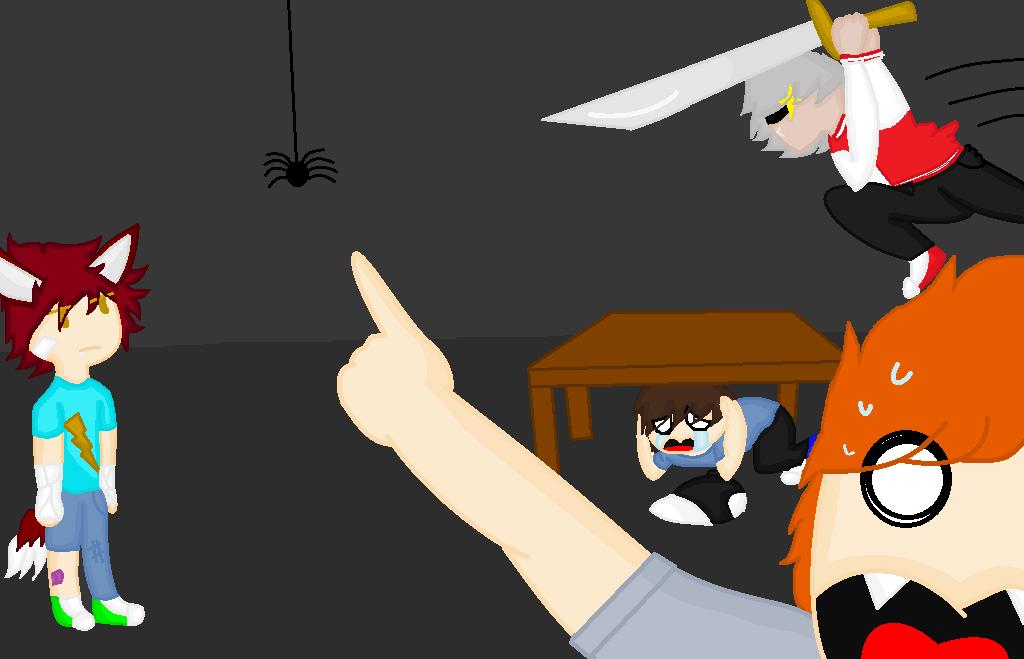 Spider!!! DD: by FoxKiller256