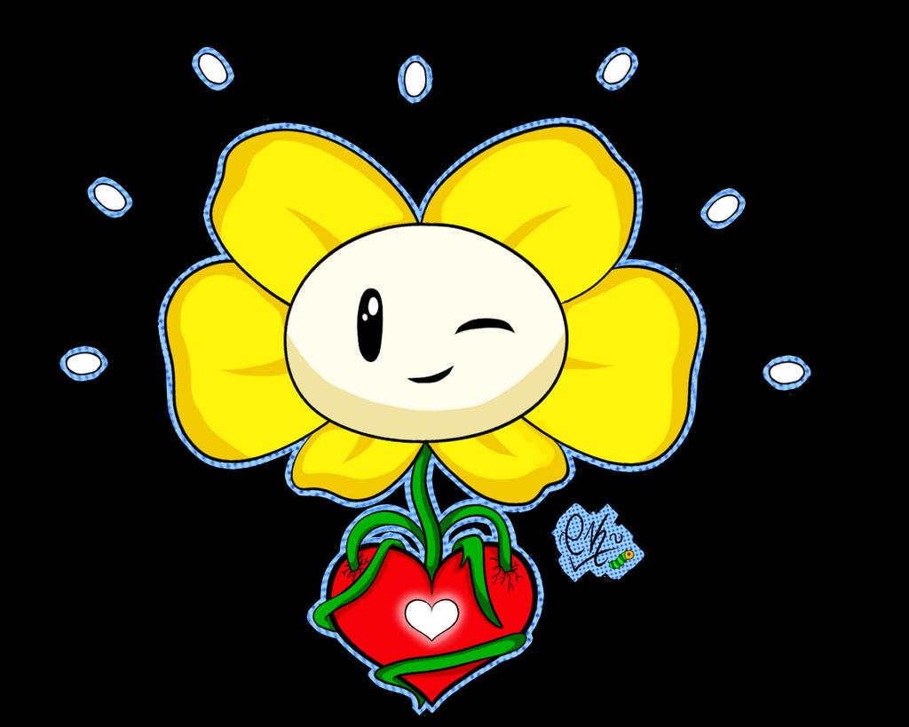 Flowey the Flower by Chocokris on DeviantArt