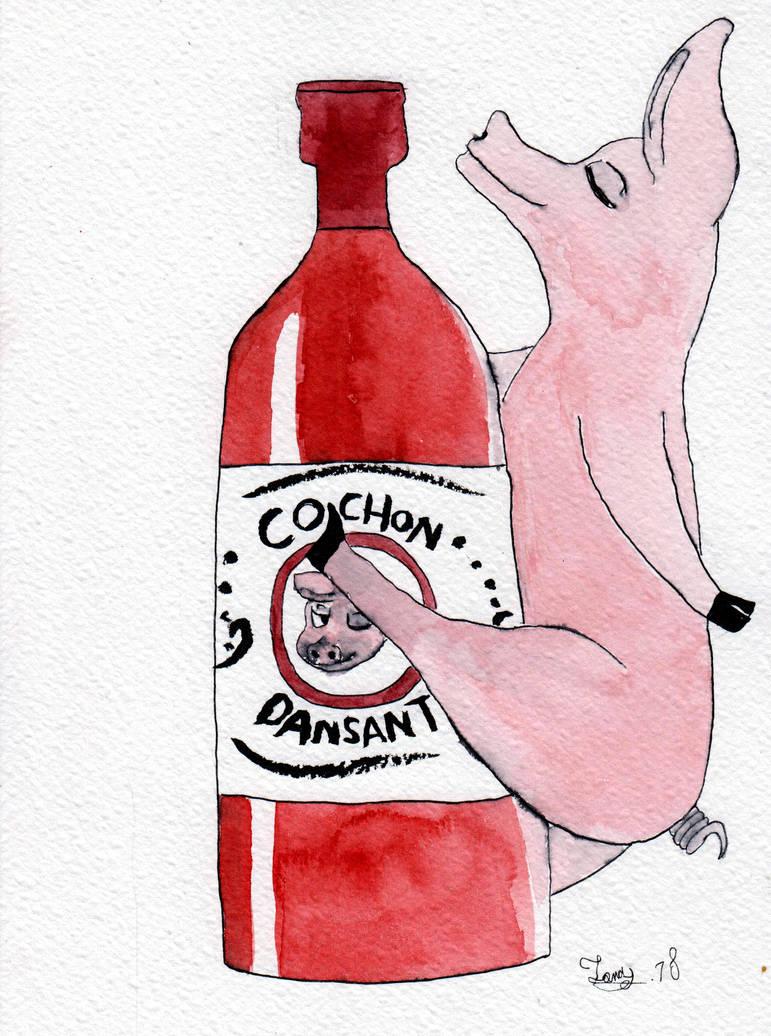 cochon dansant by Jonas-D