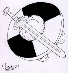 Sword and shield viking