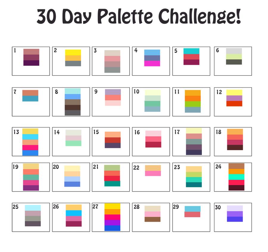 Color Challenge 28 Images Color Palette Challenge Www