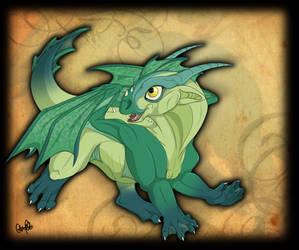 Dragon Romp by Spiritwollf