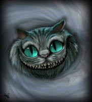 Cheshire Cat by Spiritwollf
