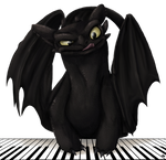 Toothless the Pianist