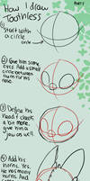 How to Draw Toothless Tutorial
