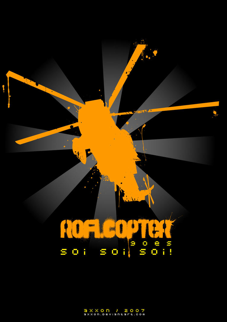 Roflcopter goes soi soi soi for What is the soi