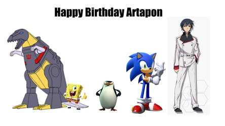 Happy Birthday Artapon by Willy276