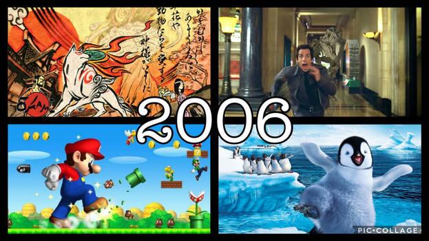Willy276's 20 Year Recap: 2006