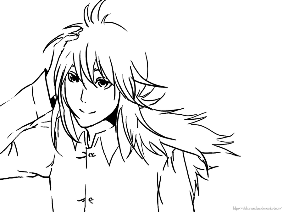 Digital Painting Without Lineart : Kurama digital lineart by chiharusato on deviantart