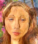 Me as a Botticelli Painting