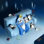 Ice King's Scary Movie Night