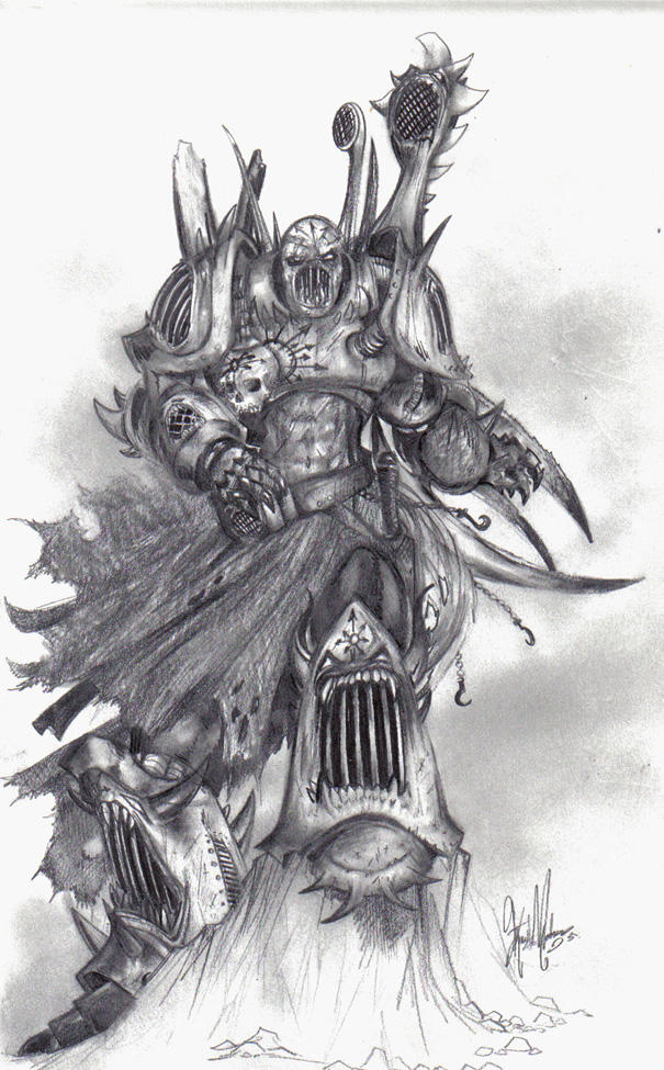 Noise Marine 'Noisy Norman' by Ghashak on DeviantArt