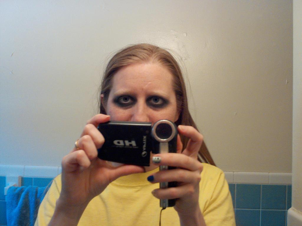 Goth Makeup 1 by LovedPurpleAngelWife