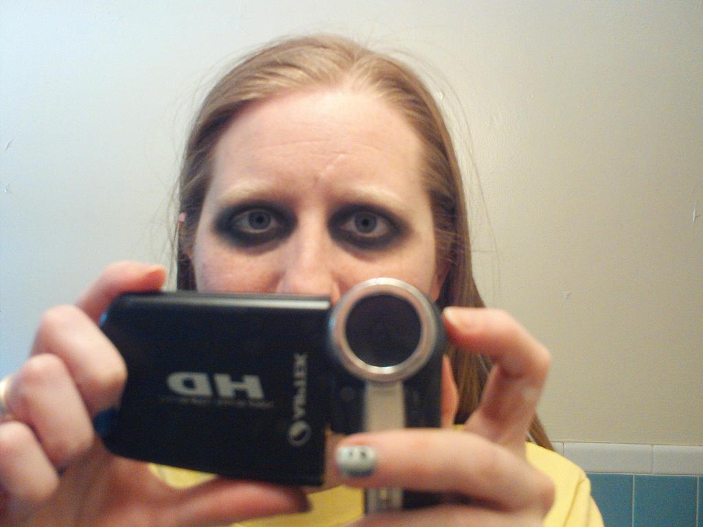 Goth Makeup 2 by LovedPurpleAngelWife