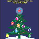 Christmas Card Animated Tree by ArcanePhotographer
