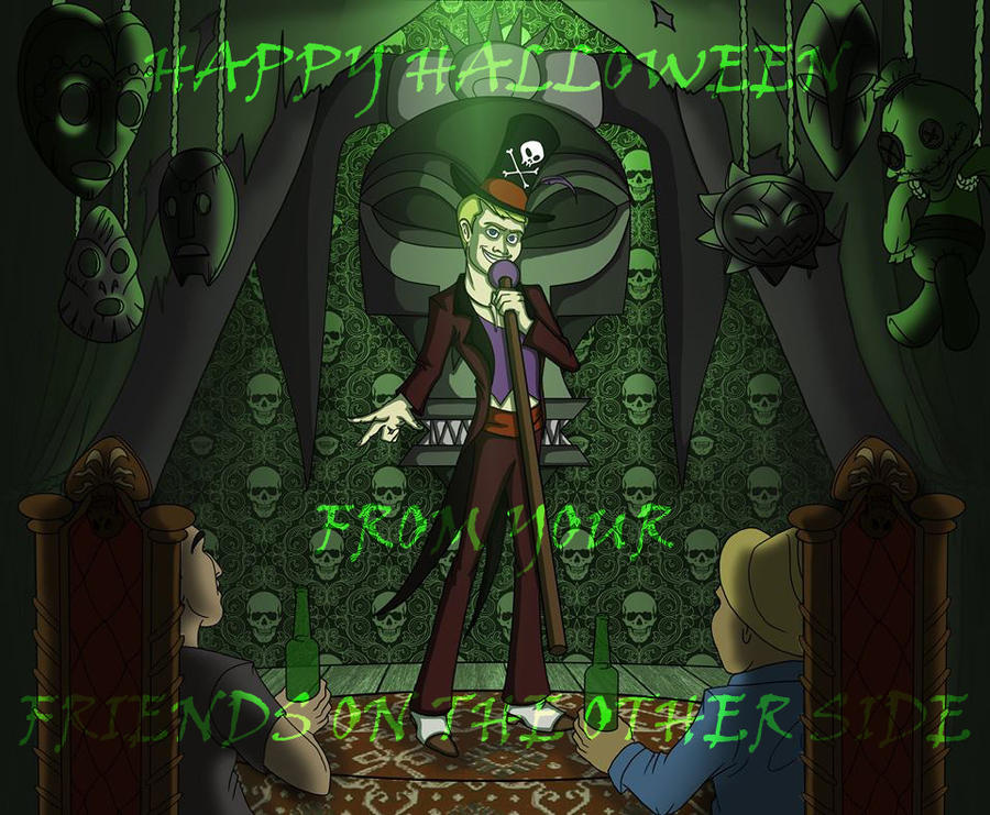 Happy Halloween  From YoFriends On the Other Side by ArcanePhotographer