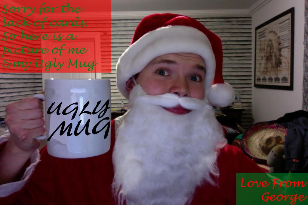 My Ugly Mug Christmas Card 2016 by ArcanePhotographer