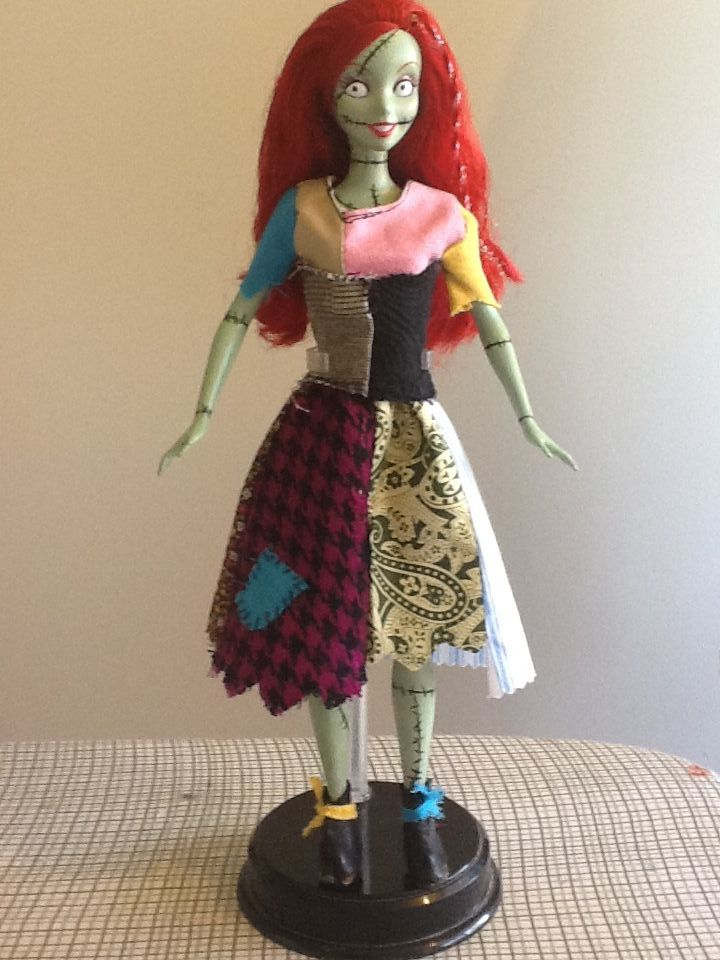 Sally Doll Nightmare Before Christmas By Pecosita7 On