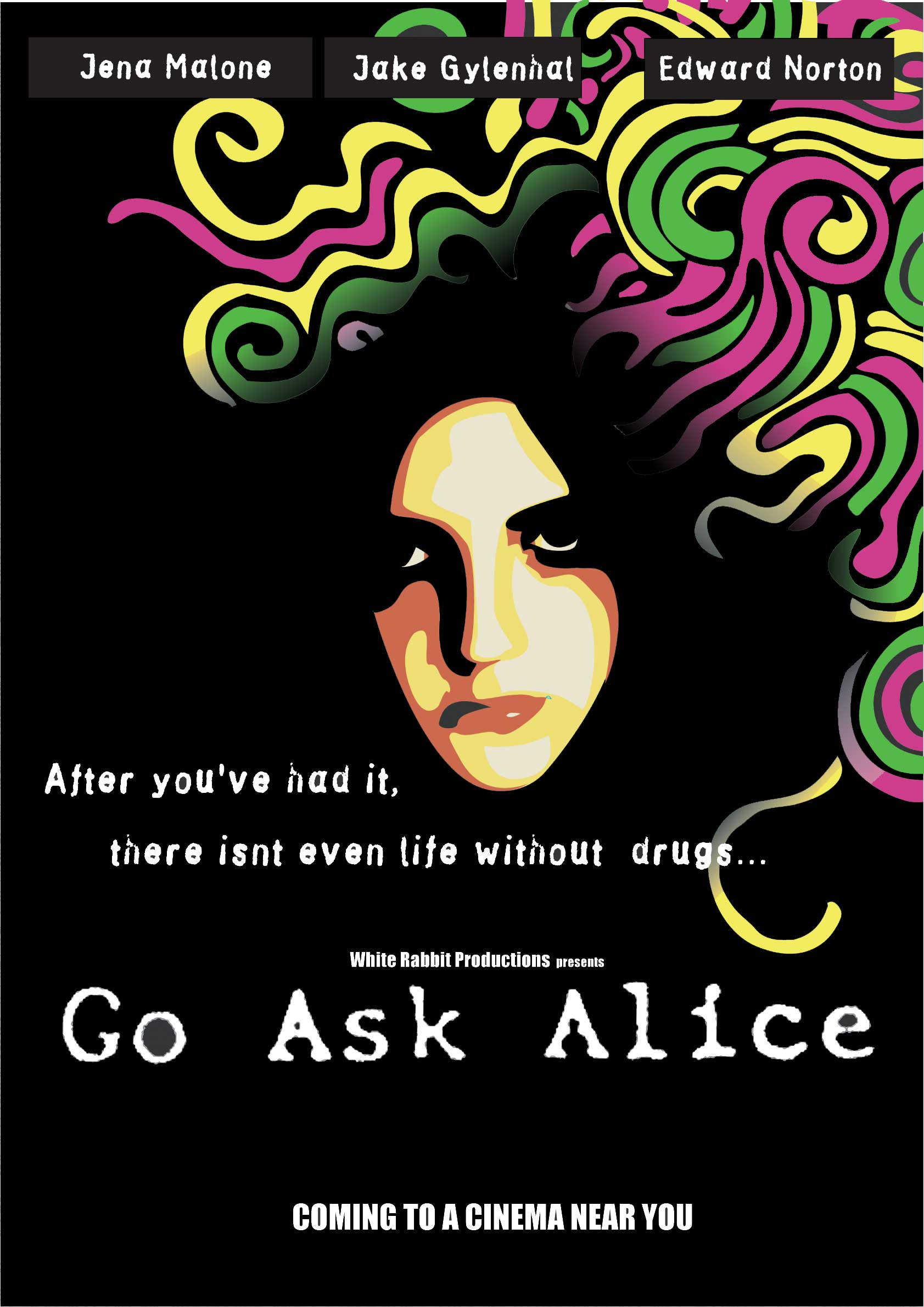 a description of go ask alice Isbn 0-671-66458-1 (hc) isbn 0-60-81785-1 (pulse pbk) € go ask alice is based on the actual diary of a fifteen-year-old drug user it is not a definitive statement on the middle-class, teenage drug world.