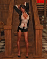 Lara 120 by Cosmics-3D-Angels