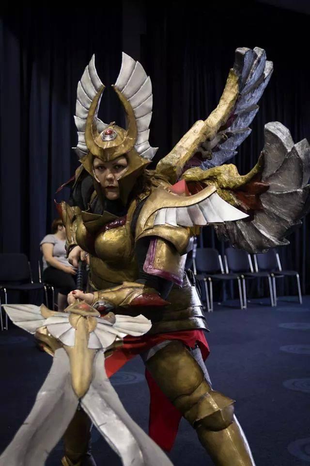 Legion Commander DOTA 2 Cosplay by TheIronManda on DeviantArt