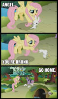 Good Name for a Pony Pub: 'The Drunken Rabbit'