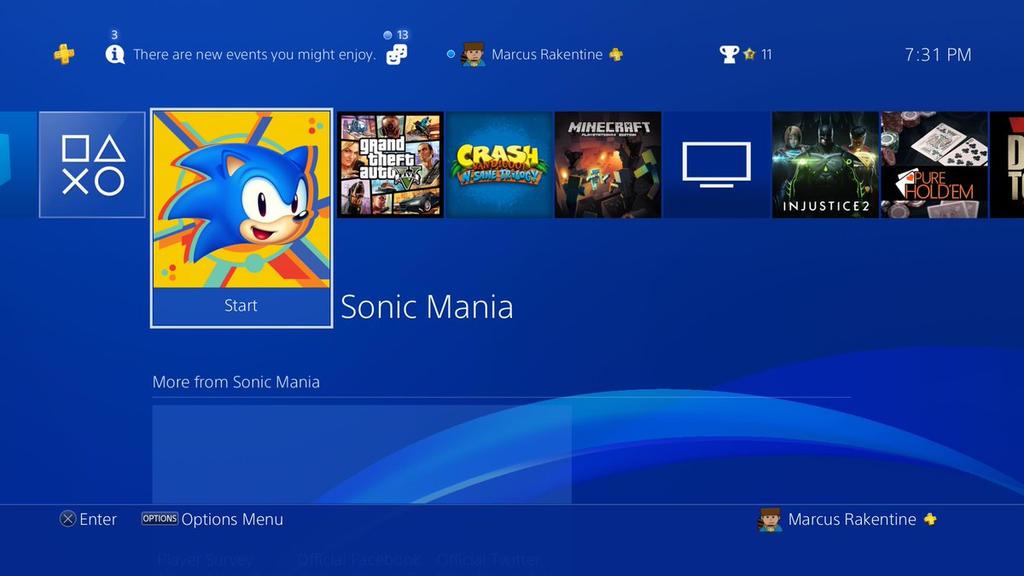 Sonic Mania Purchase Proof by 1ByteRak