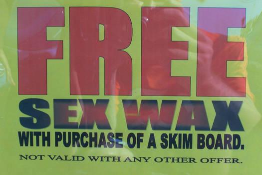 Free Sex Wax