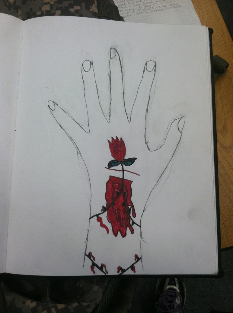 death flower 3 by losttaddy