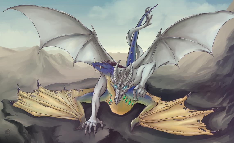 Mating dragons by Vivern-of-Nosgoth on DeviantArt