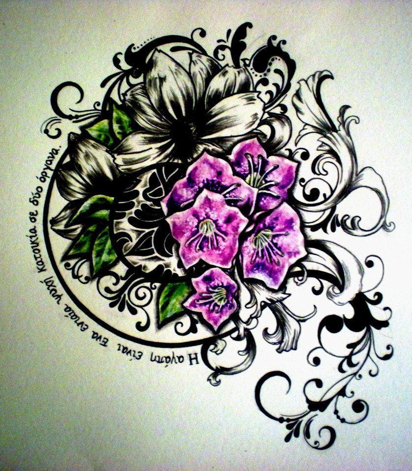 Greek Tattoo by DesertDahlia