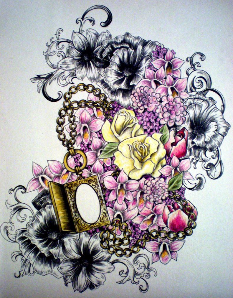 grandmother memorial tattoo by desertdahlia on deviantart. Black Bedroom Furniture Sets. Home Design Ideas