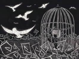 Longing For Freedom by RoseAlchemistRika93