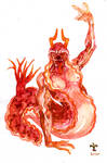 process watercolor. Slugeus sea (2)