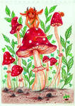 fly agaric eater by Bezumets
