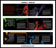 mindsky CD booklet by starplexus