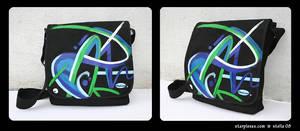 custom design abstract art bag