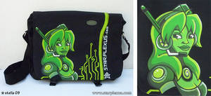 megaman X alia bag commission by starplexus