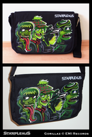 GORILLAZ laptop bag by starplexus