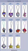 acrylic charms by starplexus