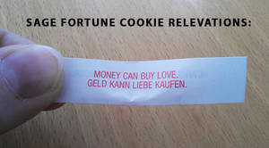 sage fortune cookie relevations by starplexus