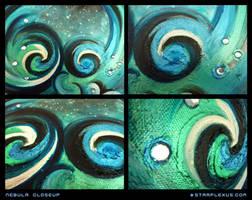 nebula closeup by starplexus